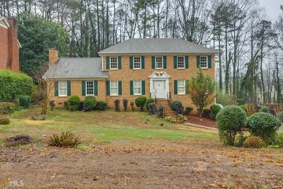 Lilburn Single Family Home Under Contract: 74 Shadow Lake Dr