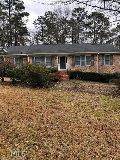 Douglasville Single Family Home Under Contract: 8603 Creekview Ct