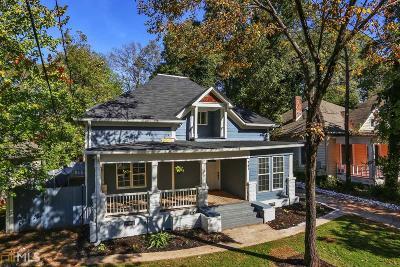 Atlanta Single Family Home For Sale: 741 Dill Ave