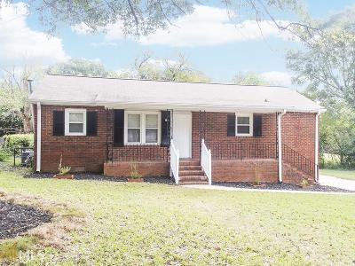 Griffin Single Family Home Under Contract: 1316 Spellman Ave