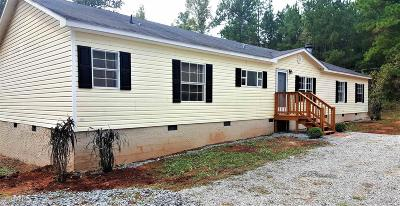 Butts County Single Family Home Under Contract: 156 Cork Rd