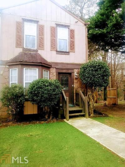 Kennesaw Condo/Townhouse For Sale: 1871 Grant Ct