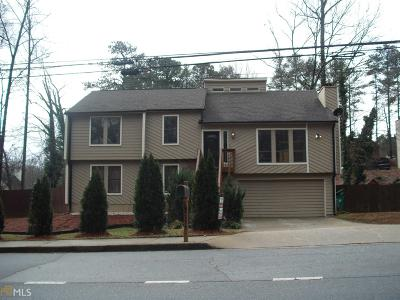 Stone Mountain Single Family Home For Sale: 4275 Central