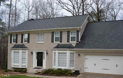 Roswell Single Family Home Under Contract: 125 Spring Ridge Dr