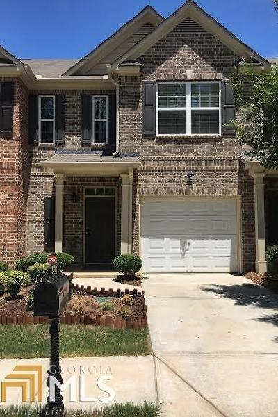 Powder Springs Condo/Townhouse Under Contract: 3382 Thornbridge