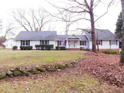 Coweta County Single Family Home Contingent With Kickout: 156 Bruce Jackson Rd