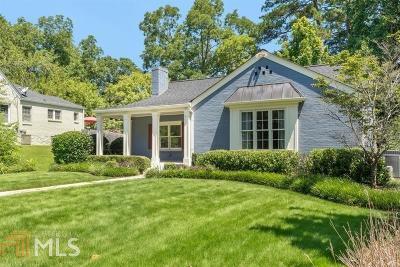 Atlanta Single Family Home Under Contract: 1196 Reeder Cir