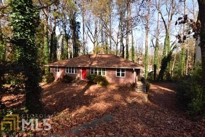 Atlanta Single Family Home Under Contract: 672 Timm Valley Rd