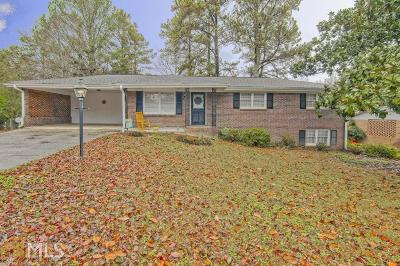Lithia Springs Single Family Home For Sale: 4235 N Martin Way