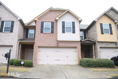 Snellville Condo/Townhouse Under Contract: 3236 Open Fields Dr