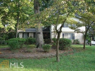 Stone Mountain Single Family Home For Sale: 4167 Hambrick Way
