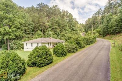 Ellijay Single Family Home Under Contract: 1726 Tickanetley Rd