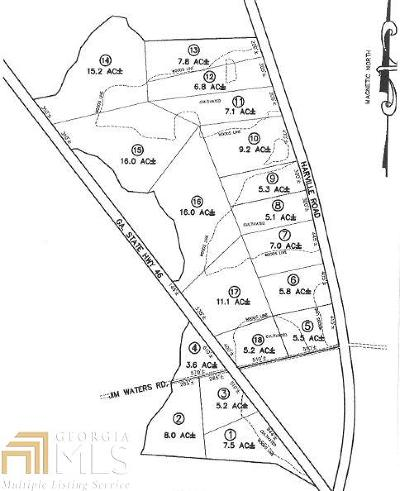 Statesboro Residential Lots & Land For Sale: Jim Waters Rd #Lot 2