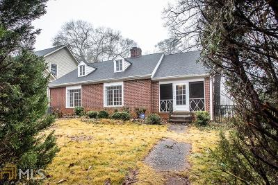 Decatur Single Family Home Under Contract: 703 Avery St