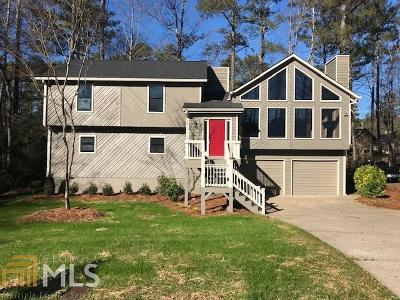 Kennesaw Single Family Home Under Contract: 4321 Alison Jane Dr