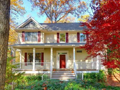 Atlanta Single Family Home For Sale: 2496 Kirkland Dr