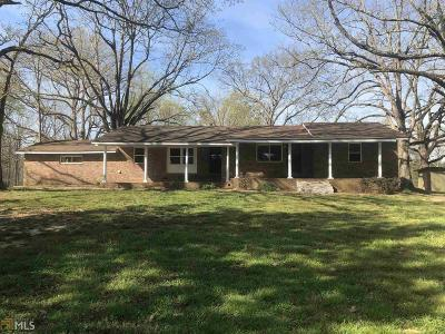 Fayetteville Single Family Home For Sale: 1586 Highway 92 N