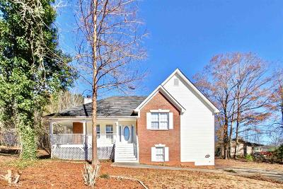 Carroll County Single Family Home Under Contract: 105 Lost Lake Dr