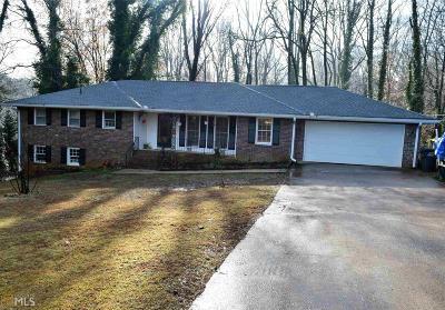 Lilburn Single Family Home For Sale: 4978 SW Joy Ln