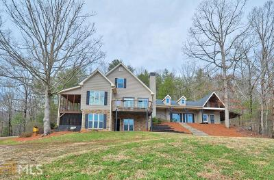 Dahlonega Single Family Home Under Contract: 1185 Jack Walker Rd