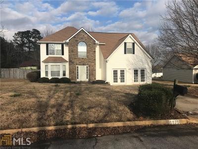 Douglasville Single Family Home For Sale: 6870 Manor Creek Dr