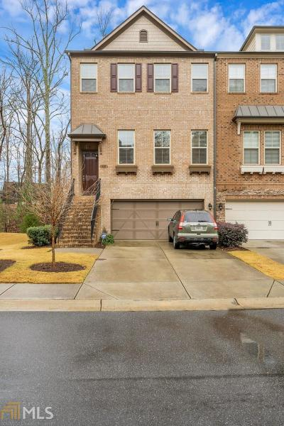 Alpharetta Condo/Townhouse Under Contract: 115 Brindle Ln