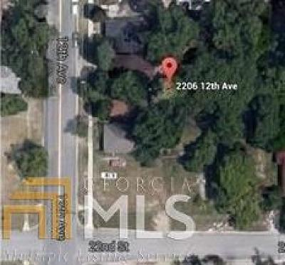 Columbus Residential Lots & Land Under Contract: 2206 12th Ave