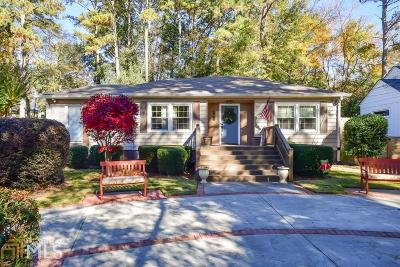 Atlanta Single Family Home Under Contract: 996 Lindbergh Dr