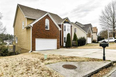 Acworth Single Family Home Under Contract: 4347 Clairesbrook Ln