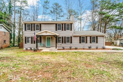 Smyrna Single Family Home For Sale: 3935 Green Forest Ln