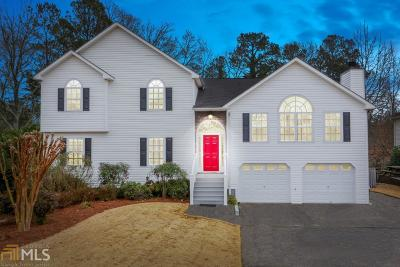 Acworth Single Family Home Under Contract: 2044 Queensbury Dr