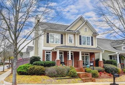 Suwanee Single Family Home Under Contract: 786 Village Manor Pl