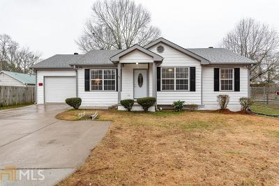 Winder Single Family Home For Sale: 63 Clifton Dr