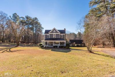 Dacula Single Family Home For Sale: 1768 Hood Rd