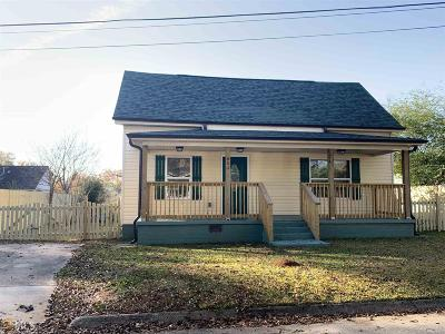 Griffin Single Family Home Under Contract: 651 Garrett St