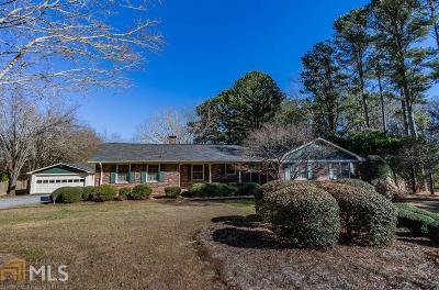 Monroe Single Family Home New: 1240 Mt Paran Church Rd
