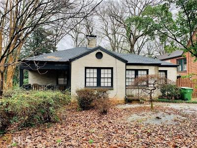 Ormewood Park Single Family Home For Sale: 894 Moreland Ave