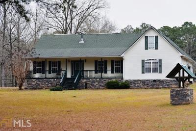 Social Circle Single Family Home New: 3040 Clegg Farm Rd