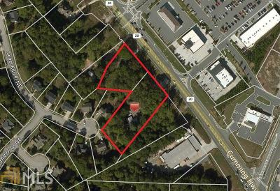 Sugar Hill Residential Lots & Land For Sale: 5952 Cumming Hwy