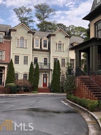 Atlanta Condo/Townhouse Under Contract: 3127 Lenox Rd #23
