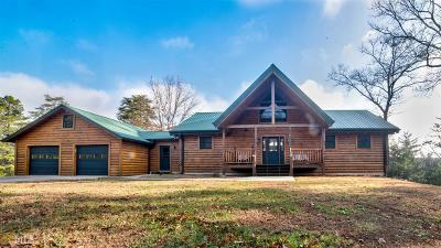 Dawson County Single Family Home Under Contract: 1027 Antioch Church Rd