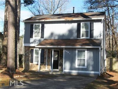 Austell Single Family Home For Sale: 6891 Hickory Log Rd