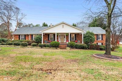 Cartersville Single Family Home Under Contract: 5 Benham Cir