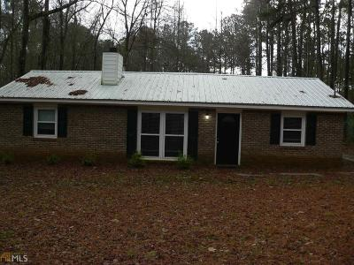 Newnan Single Family Home Under Contract: 1124 Country Club Rd