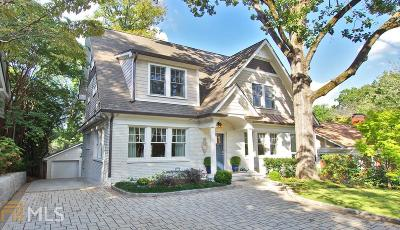 Virginia Highland Single Family Home Under Contract: 1028 Amsterdam Ave