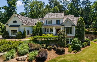 Alpharetta, Milton, Roswell Single Family Home For Sale: 845 Owens Lake Rd