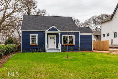 Atlanta Single Family Home For Sale: 253 S Howard St