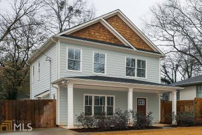 Atlanta Single Family Home For Sale: 1558 Liberty Ave