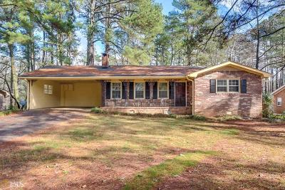 Austell Single Family Home Under Contract: 6405 Sherwood Trl