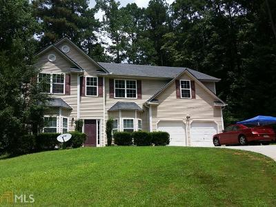 Douglasville Single Family Home New: 4200 Jackie Dr
